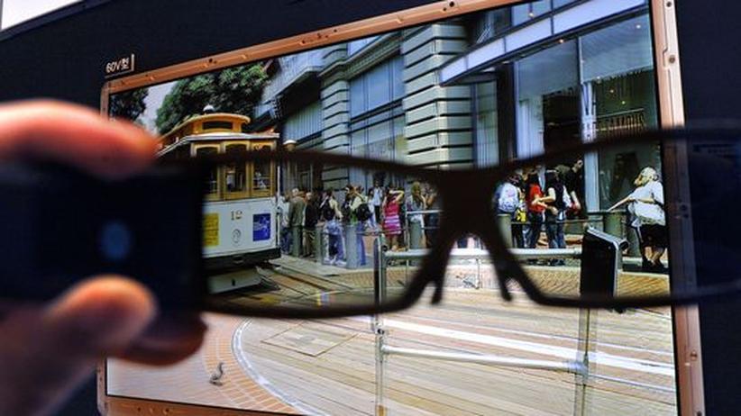 3-D-Brillen braucht es auch zu Hause, will man die neue Dimension erfahren