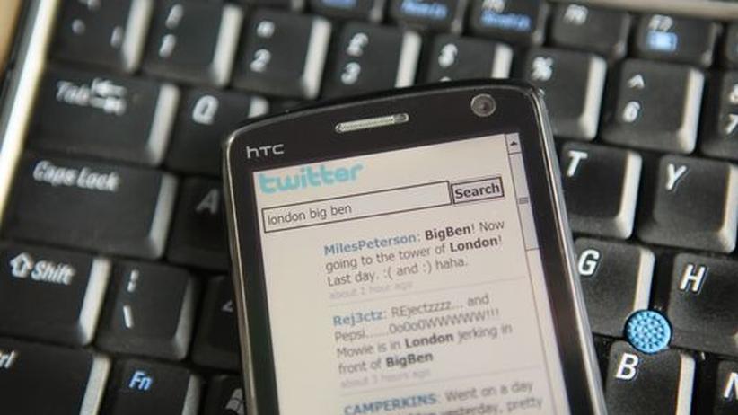 Internet auf einem Mobiltelefon