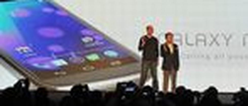 Vorstellung des Galaxy Nexus von Samsung, das mit Android 4.0 läuft