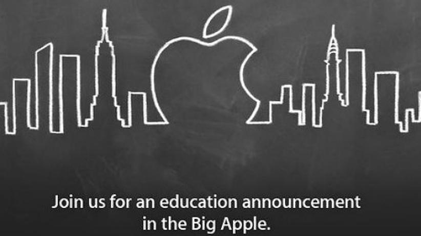 iPad: Apple will das Schulbuch neu erfinden