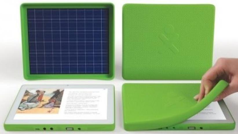 Consumer Electronics Show: Das Tablet XO-3 ist der der erste Computer der Initiative One Laptop Per Child, der 100 Dollar oder weniger kosten wird.