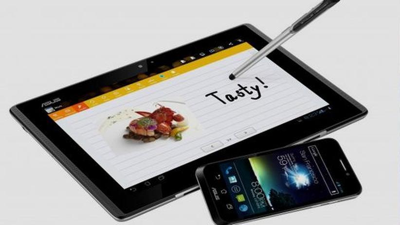 Ausprobiert: Das Padfone von Asus vereint Smartphone, Tablet und Netbook