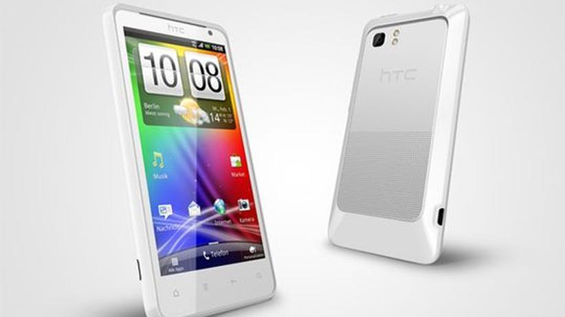 LTE-Technik: HTC im Geschwindigkeitsrausch