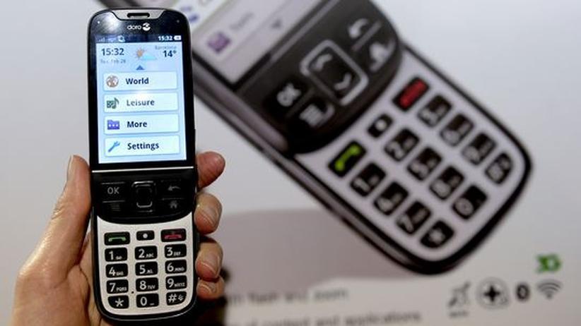 Mobile World Congress: Der Markt für Seniorenhandys boomt