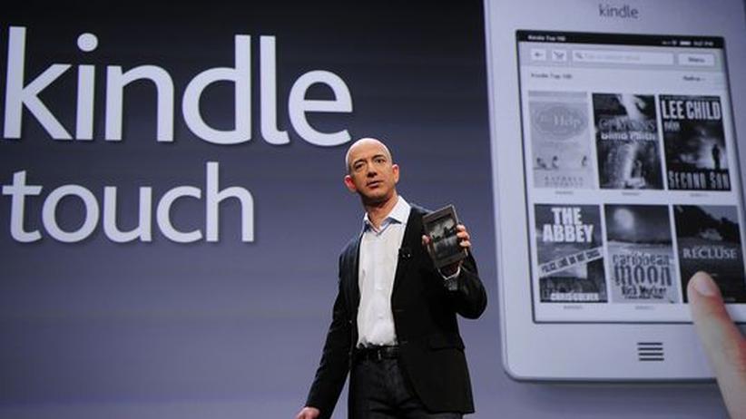 Amazon: Kindle Touch ist Weiterentwicklung, keine Revolution