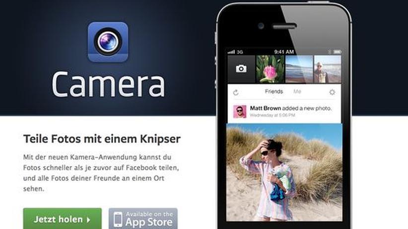 Camera: Facebook baut sein eigenes Instagram
