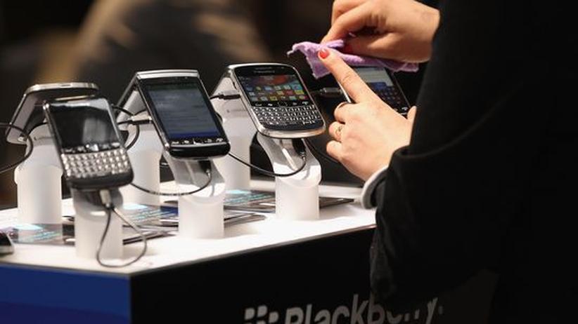 RIM: Gerüchte über Verkauf von Blackberry