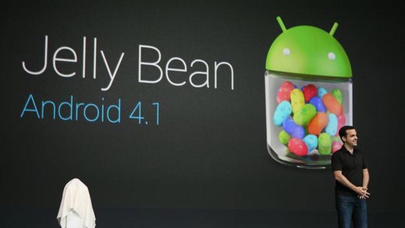 Google: Android Jelly Bean ist schick und hat Potenzial