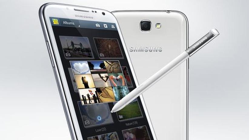 Samsung Galaxy Note II: Das Samsung Galaxy Note II mit 5,5 Zoll großem Display