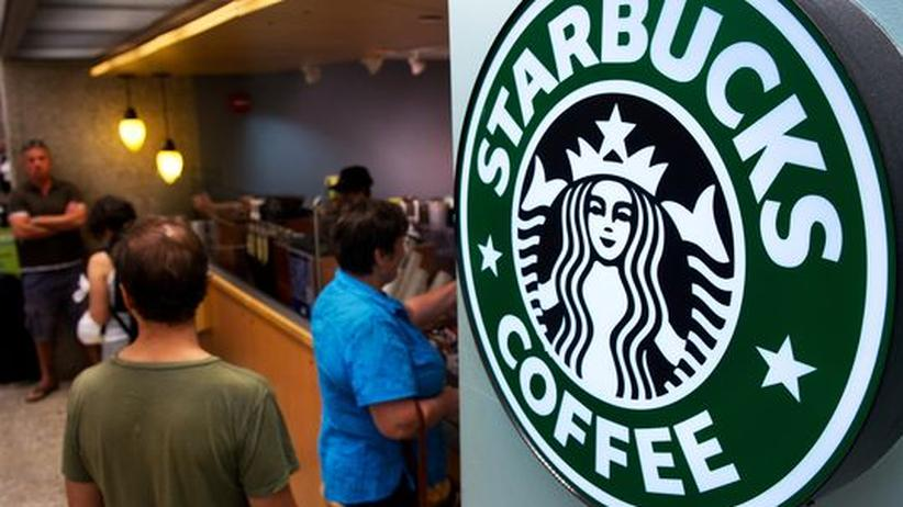 Starbucks-Filiale in den USA
