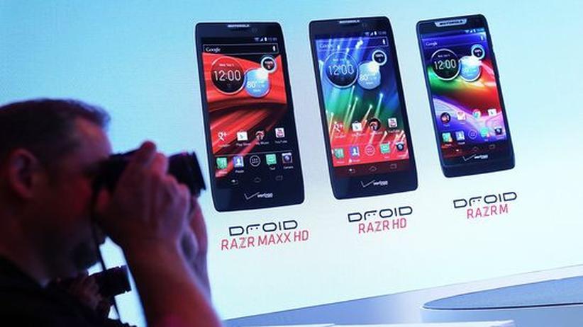 Android: Google zeigt die ersten Motorola-Smartphones