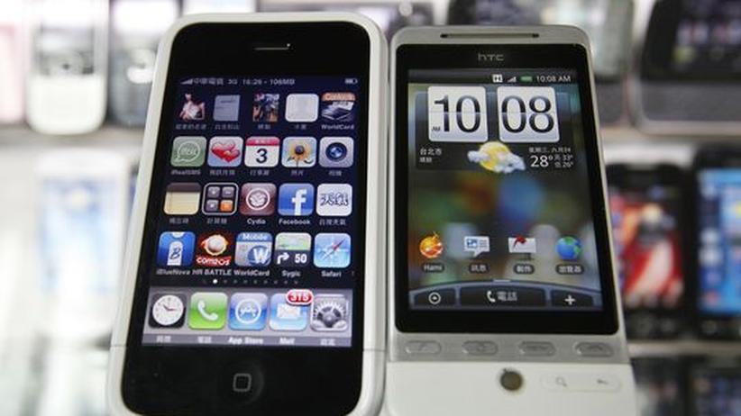 Smartphones: Apple und HTC beenden Patentkrieg