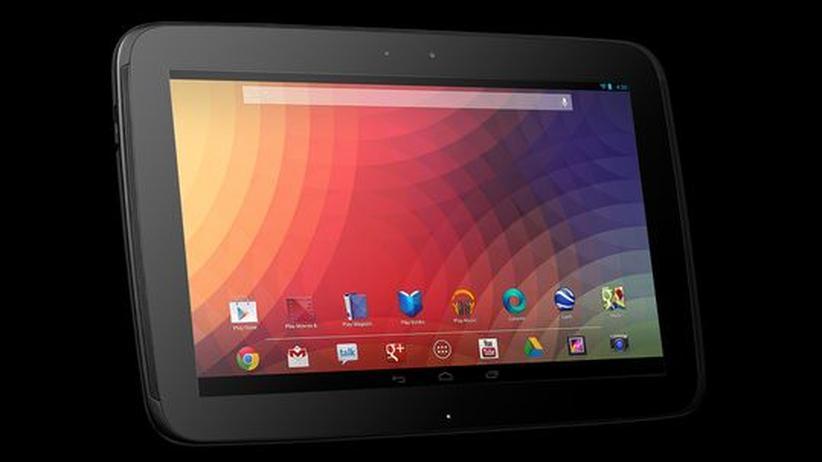Tablet: Das Nexus 10 zeigt, was Android kann