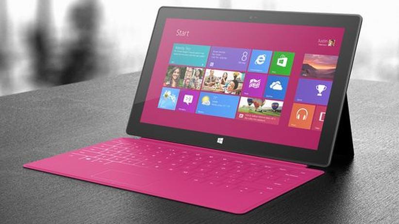 Tablet: Microsofts Surface ist nur bedingt konkurrenzfähig