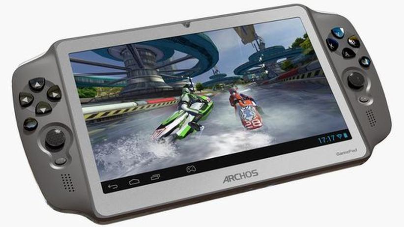 Archos Gamepad: Ein Tablet für den anspruchslosen Gamer