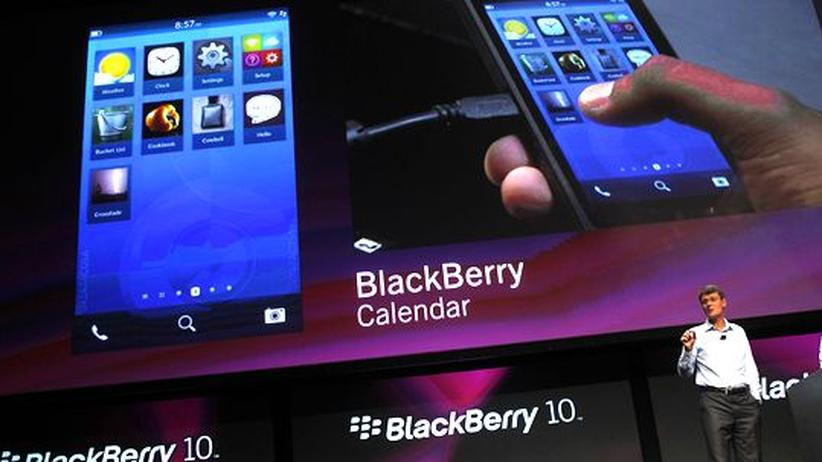Research In Motion: Die neuen Blackberrys trennen Job und Privatleben