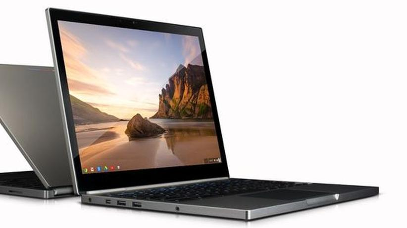 Chromebook Pixel: Google-Notebook soll mit Apples MacBook konkurrieren