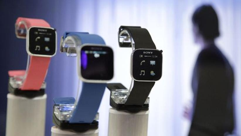 Apple: Die Sony SmartWatch wurde im vergangenen Jahr vorgestellt.