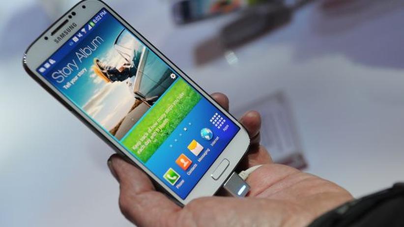Samsung Galaxy S4: Samsung nimmt sich selbst zum Vorbild