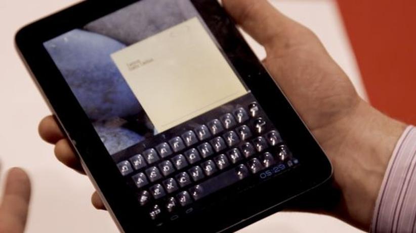 Mobile World Congress: Wenn dem Bildschirm Tasten wachsen