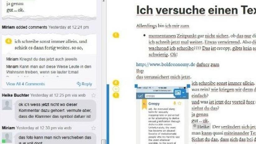 Quip: Eine App für kollaborativen Wahnsinn