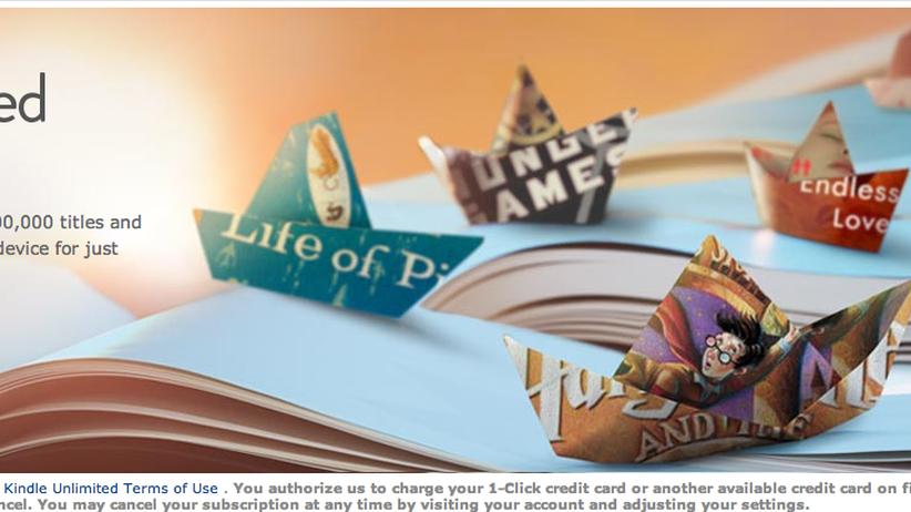 Screenshot der kurzzeitig veröffentlichten Amazon-Werbung
