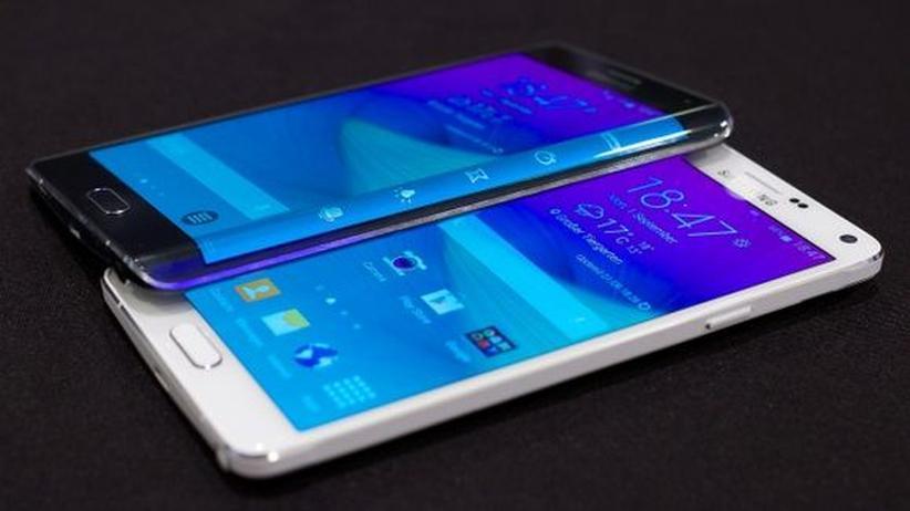 Samsung Galaxy Note 4: Das Samsung Galaxy Note 4 und das Note Edge mit gebogenem Display