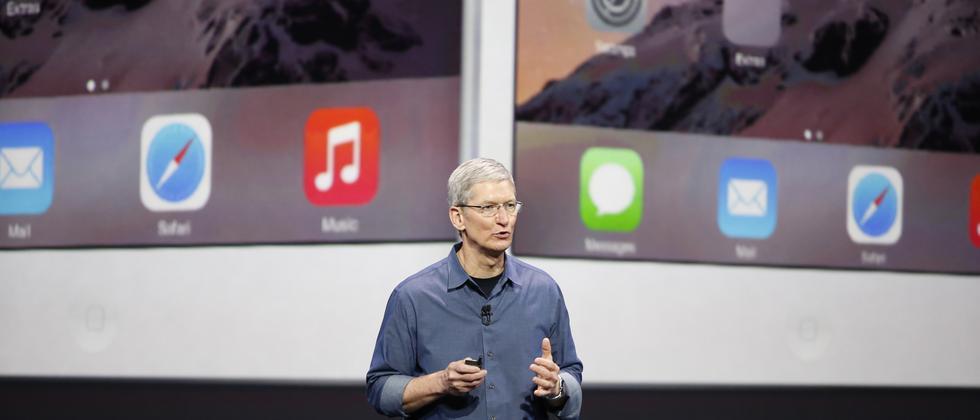 Tim Cook stellt das iPhone 6 vor