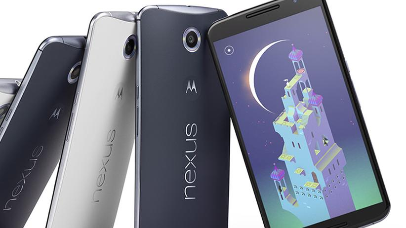 Nexus 6: Googles neues Riesensmartphone hat einen Turbolader