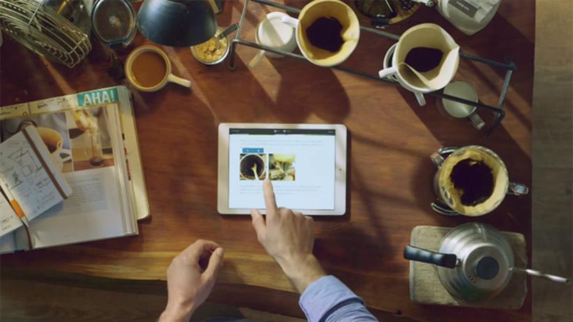 iPhone 6: Szene aus der Vorstellung der App Storehouse