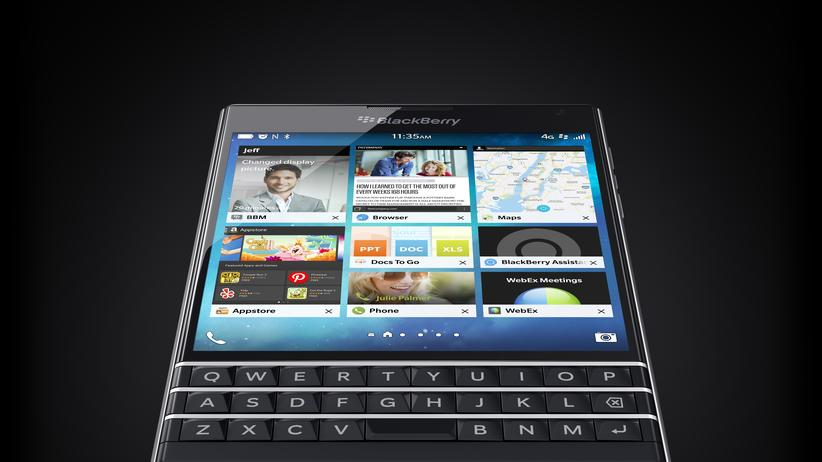 Digital, Blackberry Passport im Test, Blackberry, Smartphone, Android, Test, Akku, Apps, Avantgarde, Firefox, U-Bahn