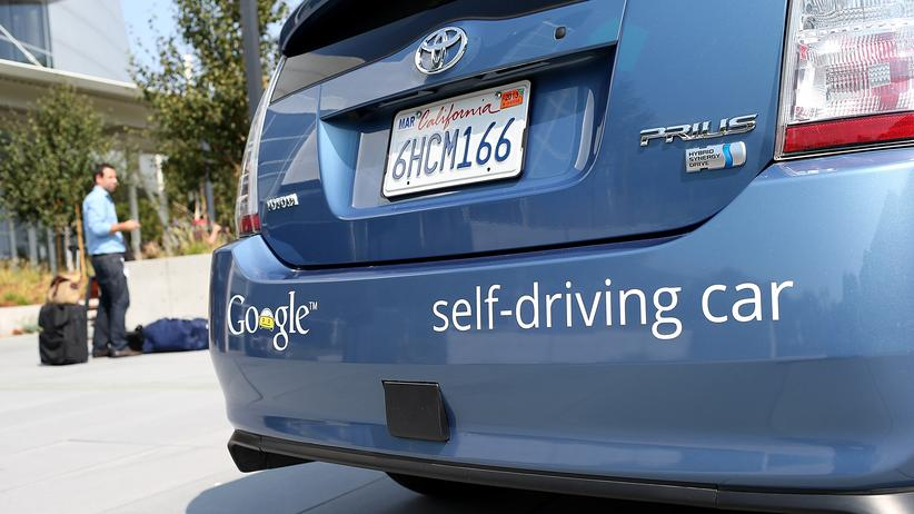 Autonomes Auto vom Typ Prius von Google
