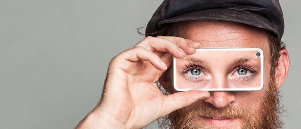 Im Netz lässt sich nun auch das Augenlicht teilen.