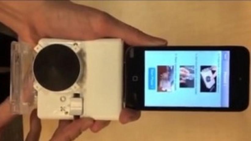 Smartphone-Aufsatz