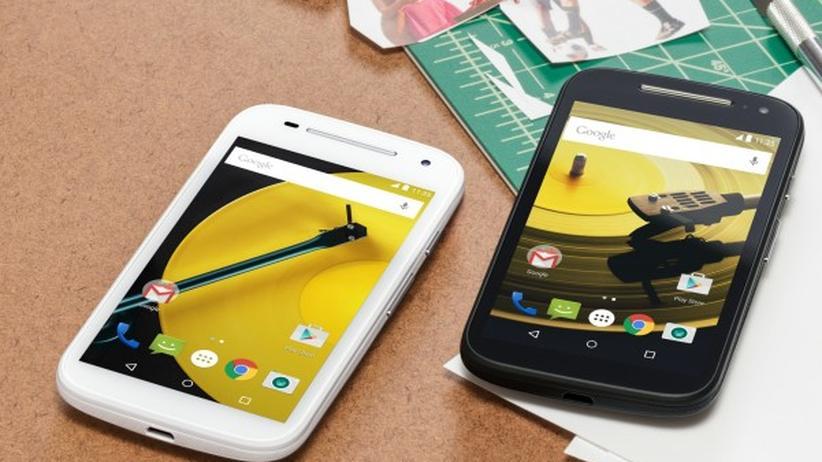 Das Motorola Moto E2