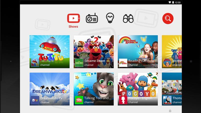 Videos: Digital, Videos, YouTube, Kinder, App, IPad, IPhone, Android, Eltern, Sesamstraße, Facebook, Show, Video, Zielgruppe, Produktion, USA, Werbung, Zeitung