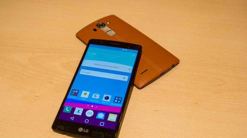 Das neue LG G4 im ersten Hands-on