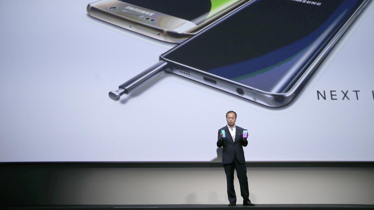 Galaxy Note 5 Samsung Macht Sich Selbst Konkurrenz Zeit Online Smartphone