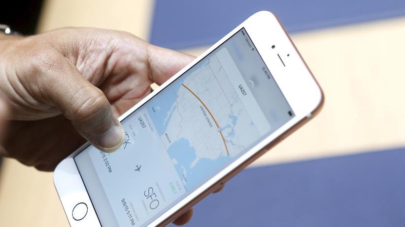 3D Touch auf dem iPhone 6s