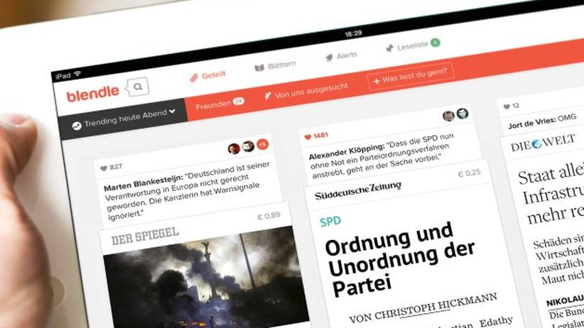 Digital, Blendle, Axel Springer, Journalismus, Burda,  App