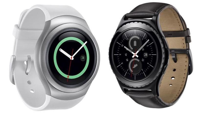 Die Samsung Gear S2 in der Standard- (links) und Classic-Variante