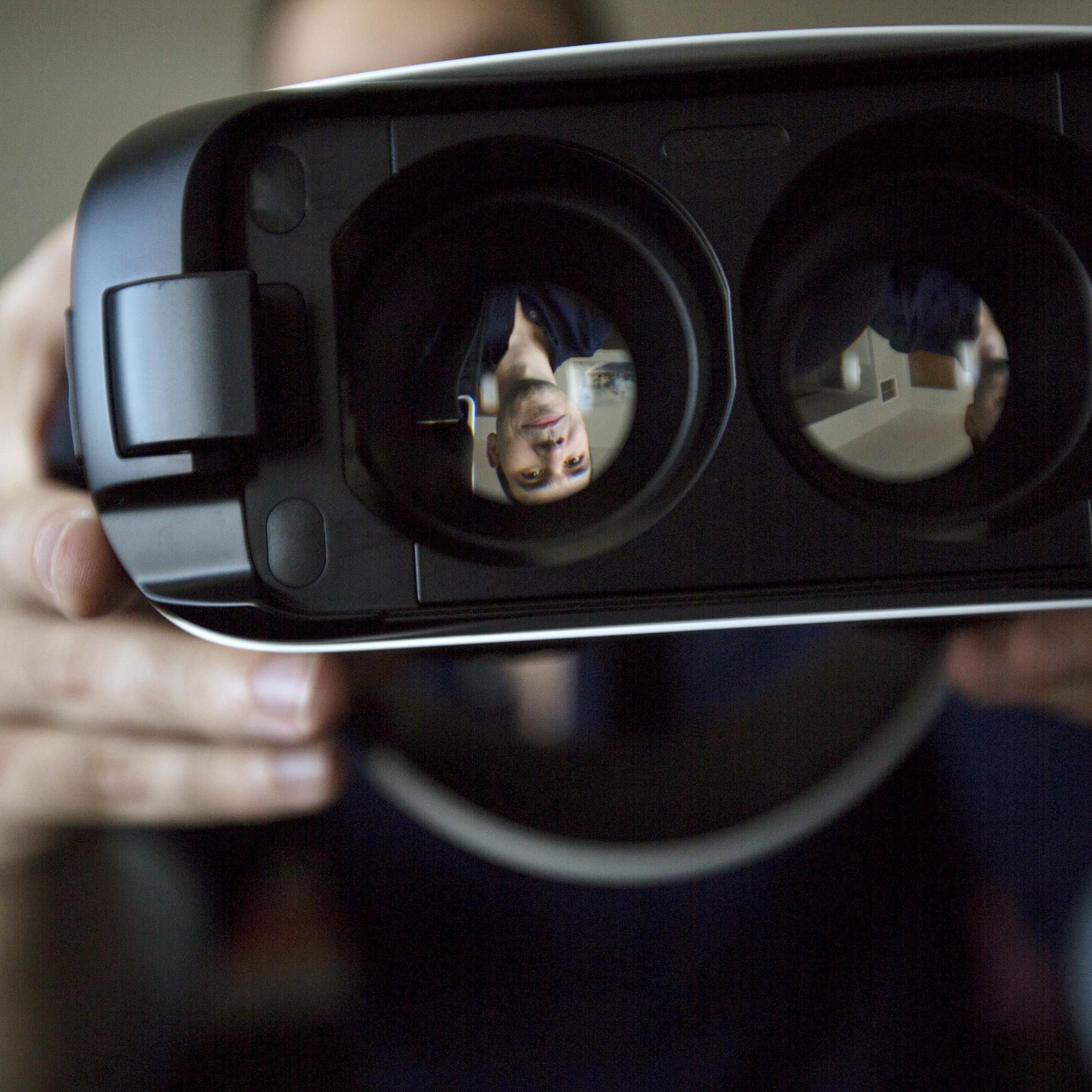 Die Gear VR funktioniert nur mit aktuellen Samsung-Smartphones.