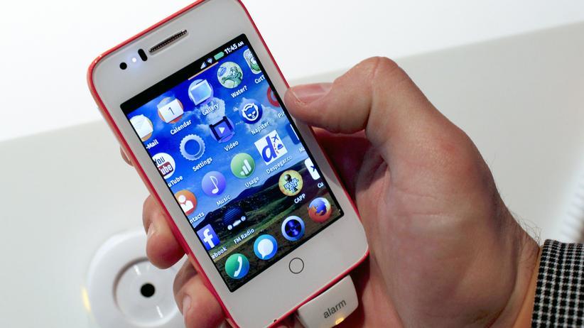 Smartphone mit Firefox OS