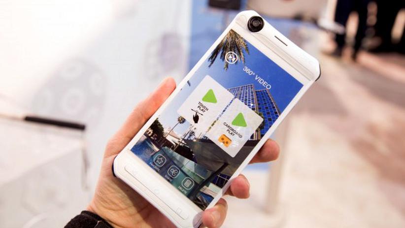 CES 2016: Ein Smartphone mit überraschend guter Rundum-Kamera