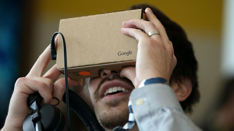 Virtual Reality: Google fürs Gesicht