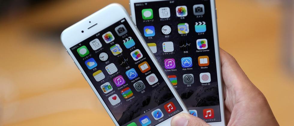 Nimm zwei: Opfer des Error 53 müssen unter Umständen ein neues iPhone 6 kaufen.