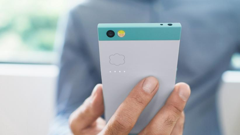 Mobile World Congress: Kantig und mintgrün: Das Nextbit Robin