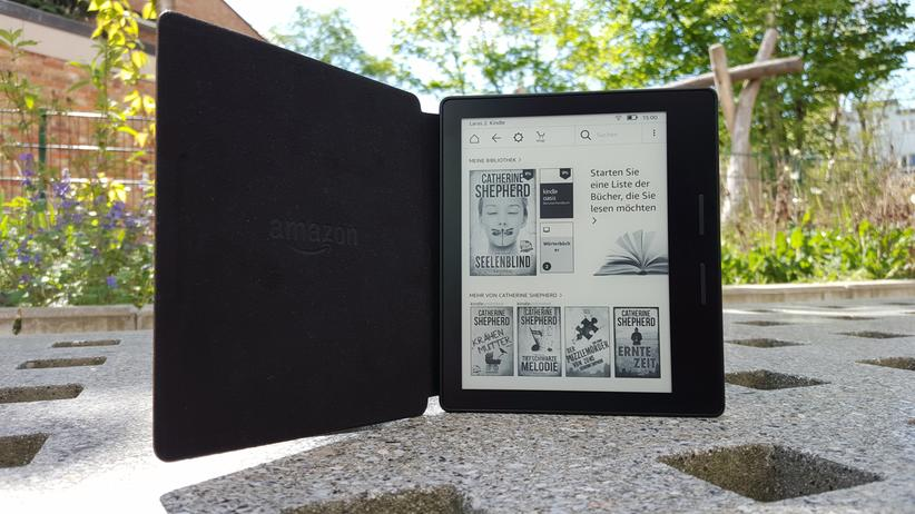 Kindle Oasis: Der Kindle Oasis ist Amazons teuerster E-Reader.