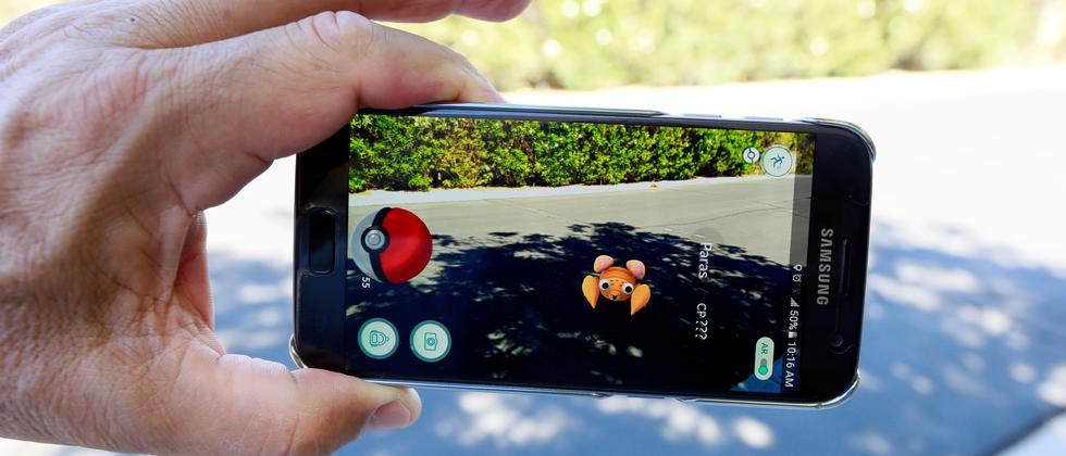 Pokémon Go in Palm Springs