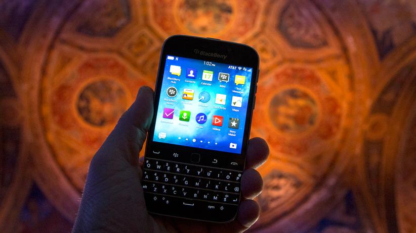 BlackBerry: Ob Angela Merkel jetzt weint?